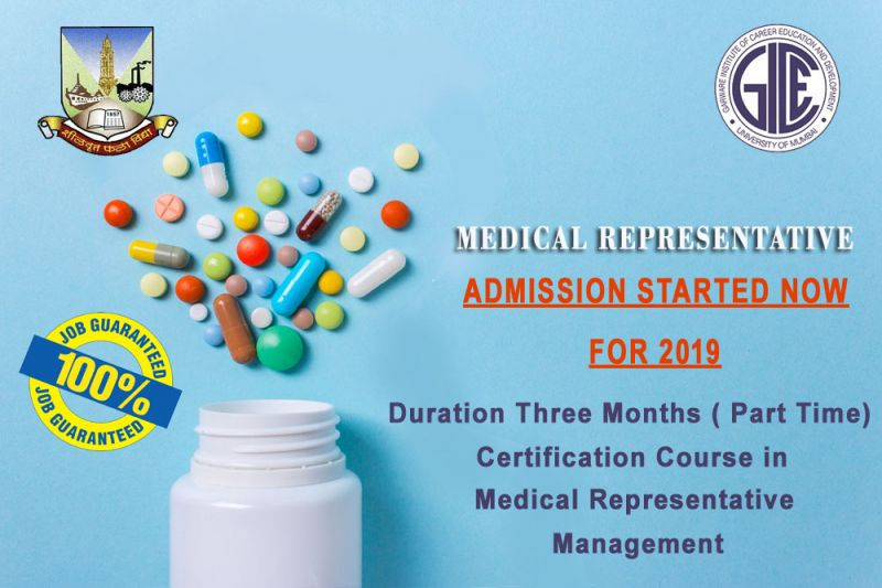 Certification Course in Medical Representative Management